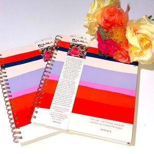 MALALA FUND STRIPED JOURNALS MALALA Kiki Notebook